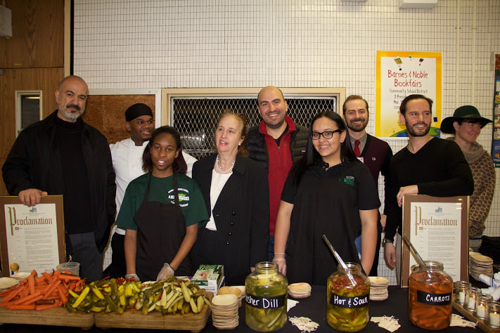 Jacob's Pickles Recognized by Manhattan Borough President for Community Development